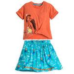 Moana Skirt Set for Girls