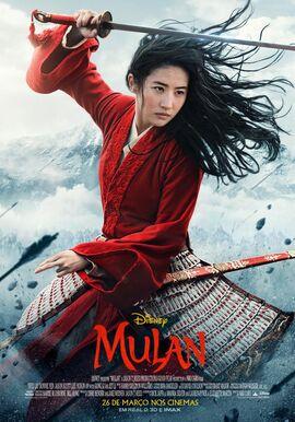 Mulan 2020 - Pôster Nacional