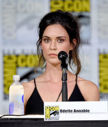 Odette Annable Comic Con