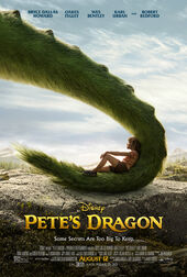 Petes Dragon 2016 poster