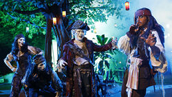 Pirates of the Caribbean Ghost Trail