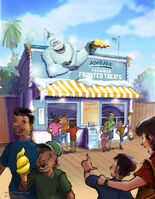Pixar-Pier-Adorable-Snowman-Frosted-Treats