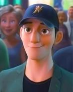 Tadashi smiles