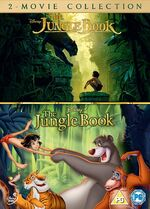 The Jungle Book Live Action Animated Box Set UK DVD