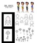 The Owl House prop sheet