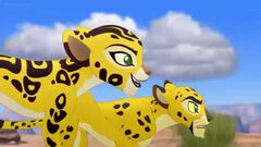 The Race to Tuliza Lion Guard