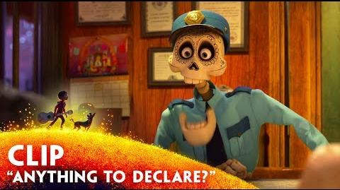 """Anything to Declare?"" Clip - Disney Pixar's Coco - November 22 in 3D"