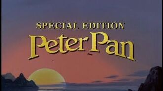 Питер Пэн (1953) – VHS DVD-трейлер 2003 года