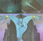Aladdin storyboards