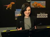 Anna Paquin behind the scenes Good Dino