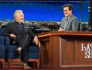Bradley Whitford visits Stephen Colbert