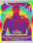 Colorful Thor Ragnarok Poster