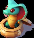 D-snake-in-a-basket