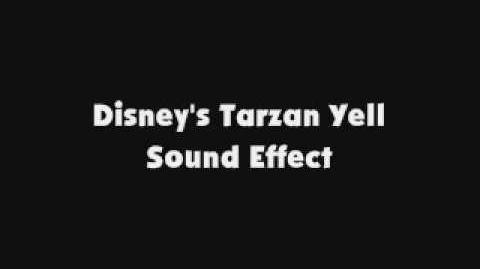 Disney's Tarzan Yell SFX