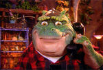 Earl Sinclair on the Phone
