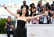 Eva Green 70th Cannes Fest