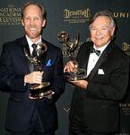 Frank Welker & Jeff Bennett at Creative Arts Emmys