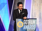 James Franco speaks at Gotham Awards