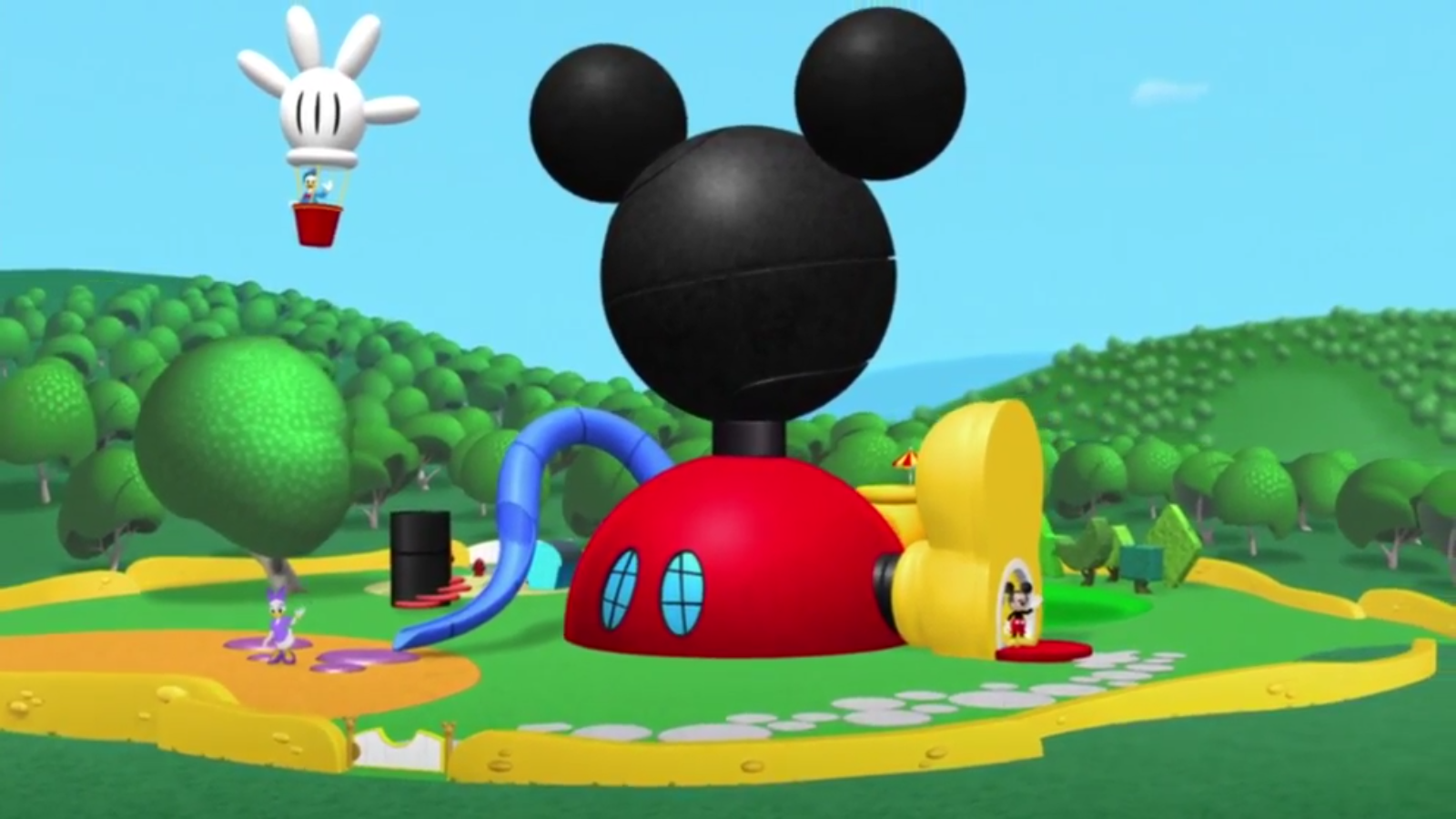 1956c53b10a Mickey Mouse Clubhouse Theme