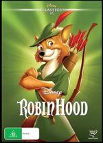 Robin Hood 2016 AUS DVD