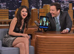 Selena Gomez tonight Jimmy Fallon