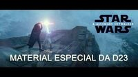 Star Wars A Ascensão Skywalker – Material Especial da D23