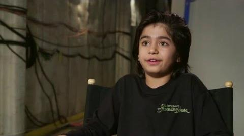 "The Jungle Book Behind The Scenes ""Mowgli"" Interview - Neel Sethi"