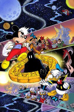 Walt Disney's Comics & Stories 721 cover