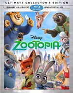 Zootopia BluRay Collectors Edition
