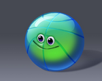 Blodger Blopp ball shape concept