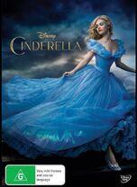 Cinderella Live Action 2015 AUS DVD