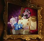 Cuadro Rey&PríncipeBebé