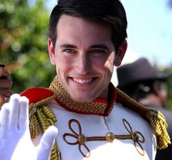 Disney Park Prince Charming