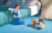 Disney Princess Belle's Story Illustraition 8