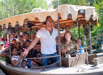Dwayne Johnson on the Jungle Cruise