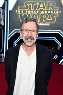 Ed Catmull SW Force Awakens premiere