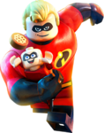 LEGO Incredibles - Mr. Incredible & Jack-Jack