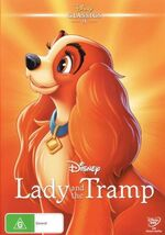Lady and the Tramp 2016 Australia DVD