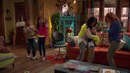 Raven's Home - 1x03 - The Baxters Get Bounced - Raven Hugs Levi