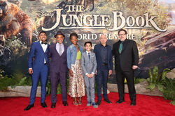 The Jungle Book 2016 World Premiere Cast
