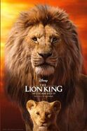The Lion King 2019 Cinema Poster