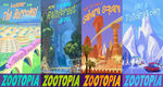 Zootopia District Brochures
