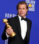 Brad Pitt 77th Golden Globes