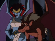 Gargoyles-demona-with-brooklyn