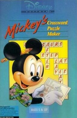 Mickey's Crossword Puzzle Maker Cover