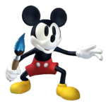 Mickey standing