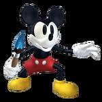 Mickey standing