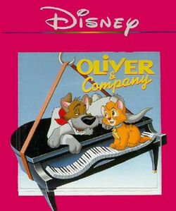 Oliver and Company Disney Read Along 2nd Cassette
