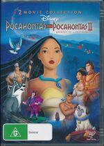 Pocahontas + Pocahontas II 2012 AUS DVD