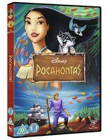 Pocahontas 2012 UK DVD